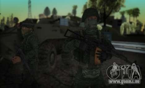 Angriff der special forces der Innenraum. für GTA San Andreas zweiten Screenshot