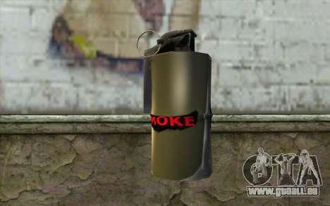 Smoke Grenade für GTA San Andreas