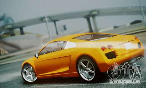 Obey 9F V.1 pour GTA San Andreas sur la vue arrière gauche
