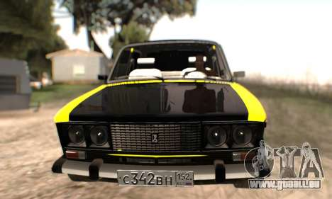 VAZ 2106 für GTA San Andreas Räder