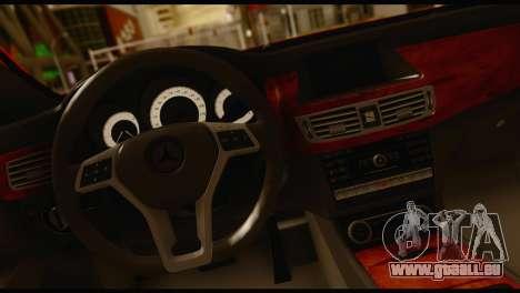 Mercedes-Benz CLS 63 pour GTA San Andreas sur la vue arrière gauche