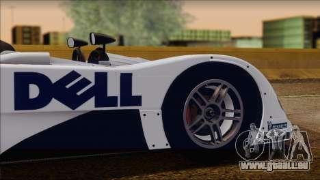 BMW 14 LMR 1999 für GTA San Andreas obere Ansicht