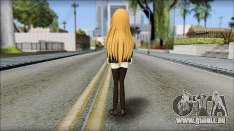 Aisaka Taiga v2 pour GTA San Andreas deuxième écran