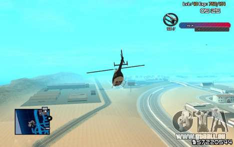 C-HUD by Nas pour GTA San Andreas