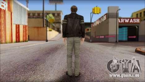 Leon Kennedy from Resident Evil 6 v1 pour GTA San Andreas deuxième écran