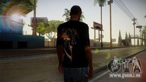 Avenged Sevenfold Reaper Reach T-Shirt für GTA San Andreas zweiten Screenshot