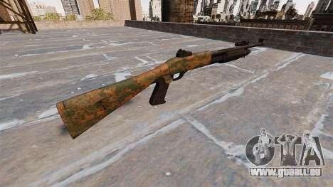 Ружье Benelli M3 Super 90 de la jungle pour GTA 4 secondes d'écran