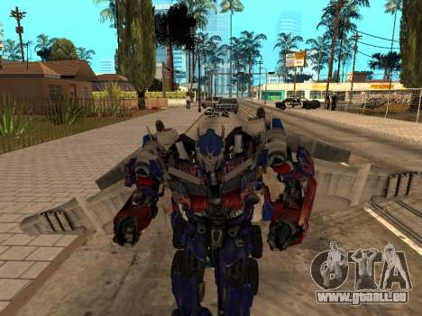 Optimus Jetpack für GTA San Andreas her Screenshot