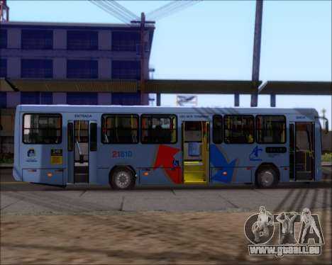 Marcopolo Torino G7 2007 - Volksbus 17-230 EOD für GTA San Andreas Rückansicht