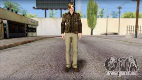 Leon Kennedy from Resident Evil 6 v1 pour GTA San Andreas
