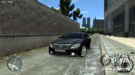 Toyota Camry 2013 pour GTA 4