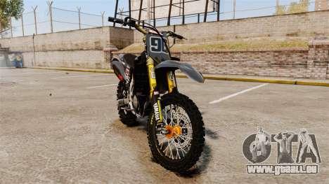 Yamaha YZF-450 v1.2 pour GTA 4