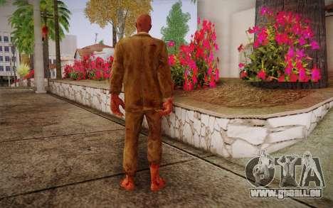 Crimson Zombie Skin für GTA San Andreas zweiten Screenshot