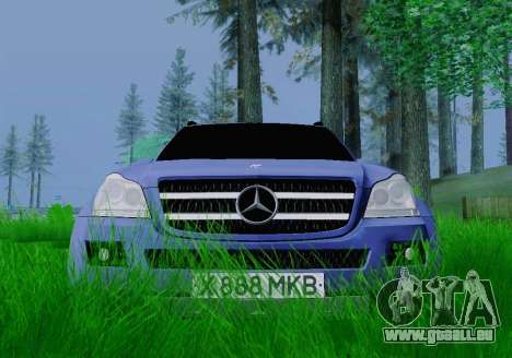 Mercedes-Benz GL500 pour GTA San Andreas vue de droite