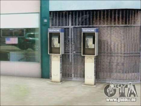 Rue de téléphone pour GTA San Andreas troisième écran