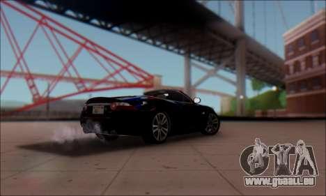 Jaguar XK 2007 für GTA San Andreas linke Ansicht