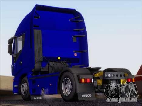 Iveco Stralis HiWay 560 e6 4x2 pour GTA San Andreas vue de droite