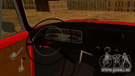 Moskvich U pour GTA San Andreas vue de droite