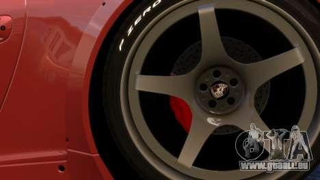 Porsche 911 GT3RSR für GTA 4 Rückansicht