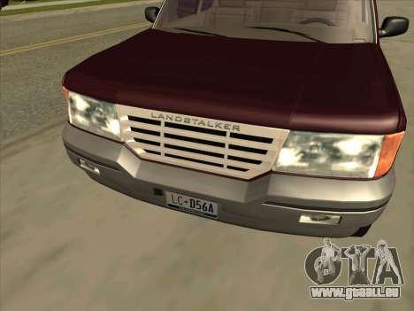 Landstalker from GTA 3 pour GTA San Andreas vue de droite