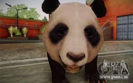 Panda Géant pour GTA San Andreas troisième écran