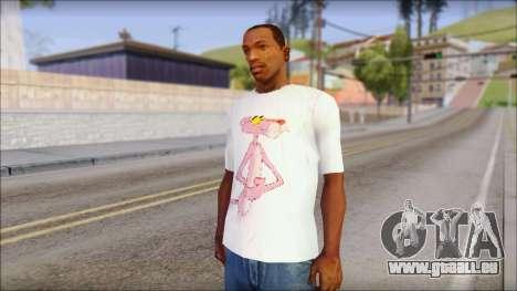 Pink Panther T-Shirt Mod pour GTA San Andreas