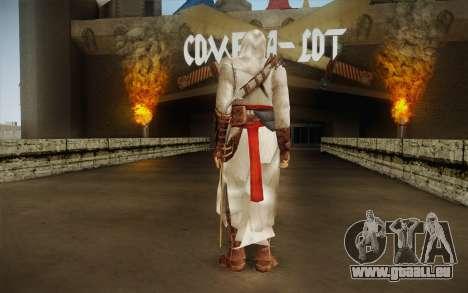 Altair from Assassins Creed pour GTA San Andreas deuxième écran