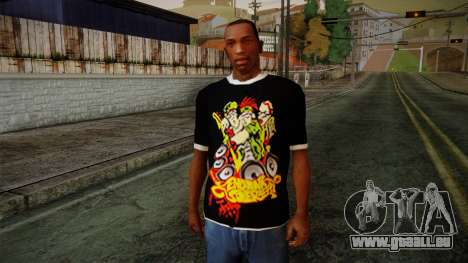 Endank Soekamti T-Shirt pour GTA San Andreas