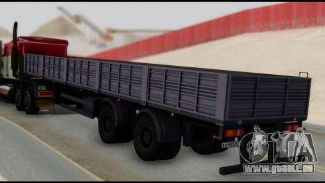 Semi-remorque MAZ 93866 pour GTA San Andreas