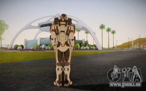 Iron Man Gemini Armor pour GTA San Andreas deuxième écran