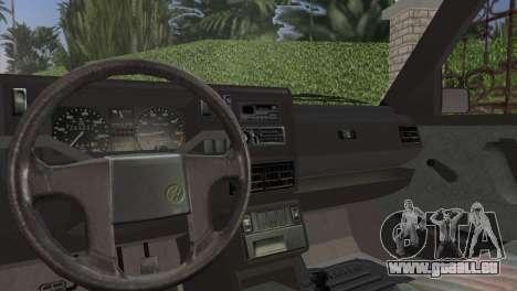 Volkswagen Golf II 1991 pour GTA Vice City vue arrière
