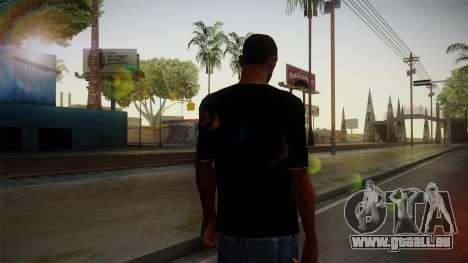Melbourne Shuffle T-Shirt pour GTA San Andreas deuxième écran
