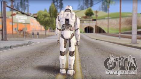 Masterchief White für GTA San Andreas zweiten Screenshot