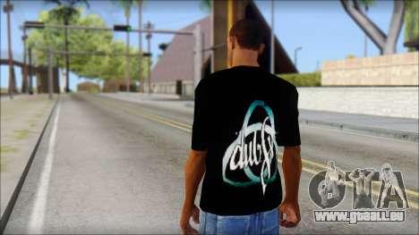 Dub Fx Fan T-Shirt v2 für GTA San Andreas zweiten Screenshot