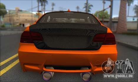 BMW M3 E92 Soft Tuning für GTA San Andreas rechten Ansicht