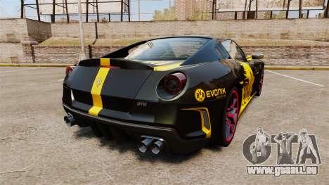 Ferrari 599 GTO PJ3 pour GTA 4 Vue arrière de la gauche