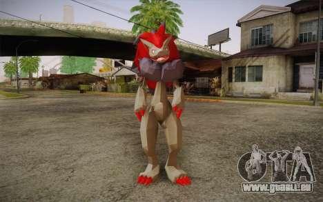 Zoroark from Pokemon pour GTA San Andreas