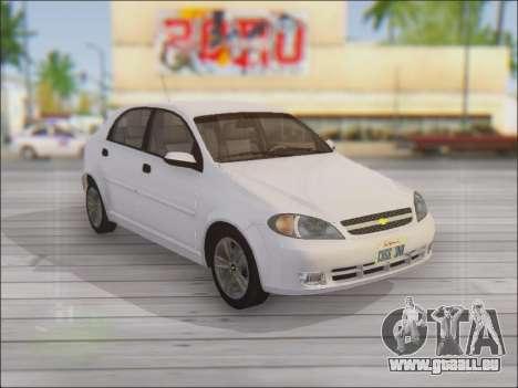 Chevrolet Lacetti für GTA San Andreas Seitenansicht