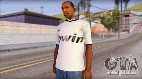 Real Madrid FC Jersey Mod pour GTA San Andreas