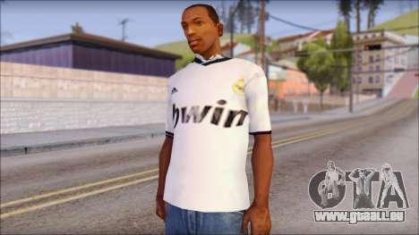Real Madrid FC Jersey Mod für GTA San Andreas