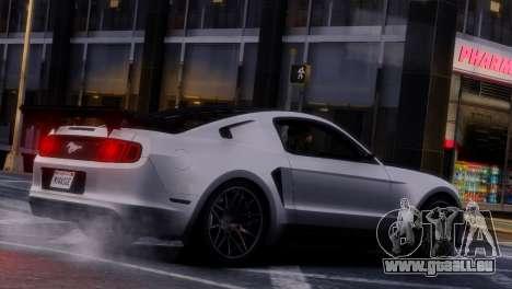 Ford Mustang GT 2014 Custom Kit für GTA 4 Unteransicht