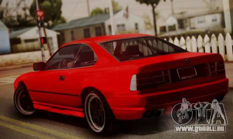 BMW M8 Custom für GTA San Andreas linke Ansicht
