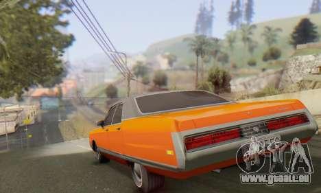 Chrysler New Yorker 1971 pour GTA San Andreas vue arrière