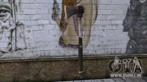 The Woodman Axe pour GTA San Andreas