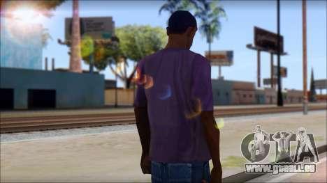 Monkey T-Shirt pour GTA San Andreas deuxième écran