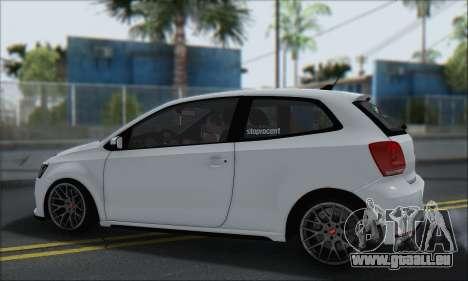 Volkswagen Polo für GTA San Andreas Innenansicht