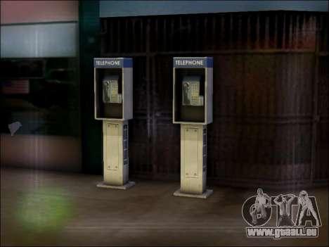 Rue de téléphone pour GTA San Andreas