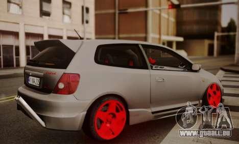 Honda Civic TypeR für GTA San Andreas linke Ansicht