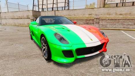 Ferrari 599 GTO PJ4 für GTA 4