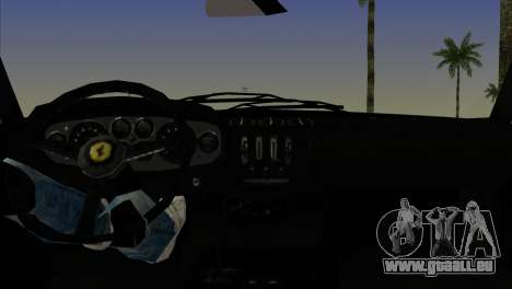 Ferrari 365 GTB für GTA Vice City zurück linke Ansicht